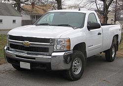 GMT900 Chevrolet Silverado 2500 regular cab