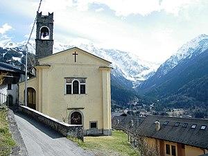 Temù - Church of Martiri di Lecanù