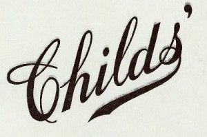 Childs Restaurants - Childs' logo of 1907