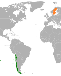 Chile–Sweden relations