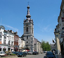 La 'Grand Place' de Chimay