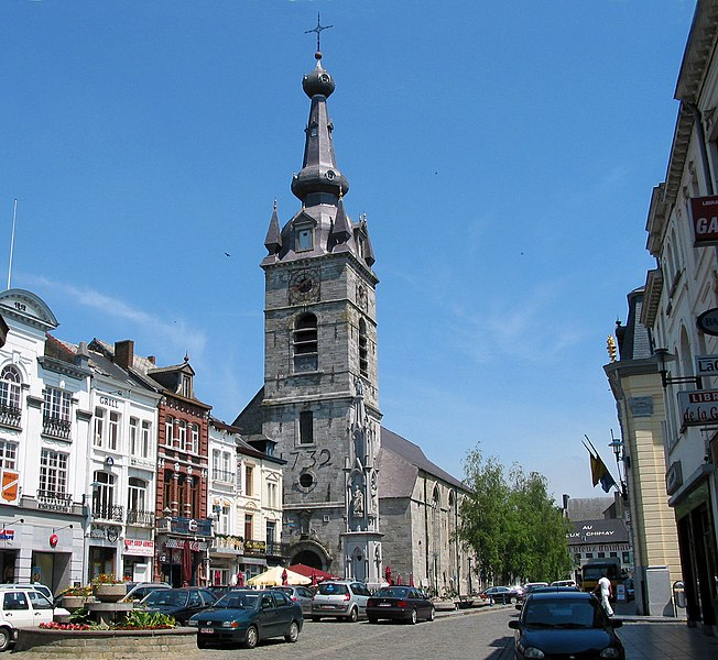 Chimay (Belgium), Grand'Place.