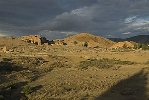 Chemtou - View of Jebel Chemtou