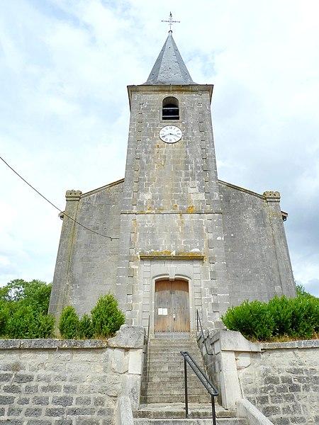 Chonville église Saint-Brice - référence Monuments Historiques PA00106505