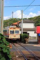 Choshi electric railway line train, Chiba, Japan; September 2011.jpg