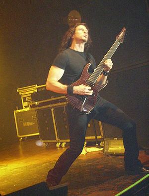 Chris Broderick - Broderick performing live with Megadeth.