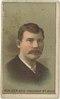 Chris Von Der Ahe, St. Louis Browns, baseball card portrait LCCN2007680717.tif