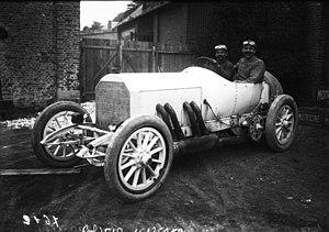 1908 French Grand Prix - Winner Christian Lautenschlager