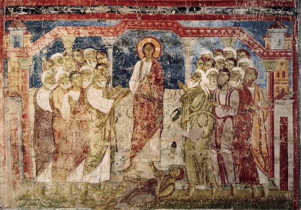 Christus heilt einen Besessenen