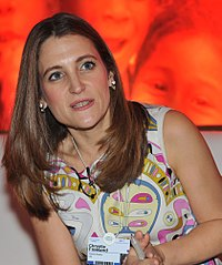 Chrystia Freeland - India Economic Summit 2011.jpg