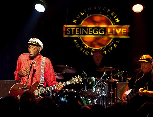 Chuck Berry beim Steinegg Live Festival 2013