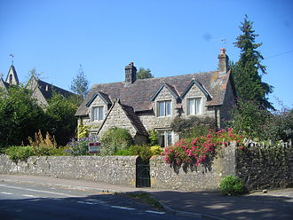 J. K. Rowling - Rowling's childhood home, Church Cottage, Tutshill, Gloucestershire