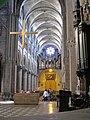 Church Saint-Pierre in Macon (nave and organ).jpg