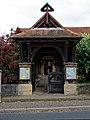 Church of St Andrew's, Boreham, Essex - lychgate 02.jpg