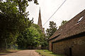 Church of St Denys, Colmworth from the road.jpg