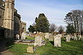 Church of St Mary Hatfield Broad Oak Essex England - churchyard looking east.jpg