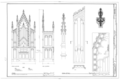 Church of the Holy Cross, State Route 261, Stateburg, Sumter County, SC HABS SC,43-STATBU.V,1- (sheet 17 of 17).png