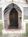 Church porch at St James, Birdham - geograph.org.uk - 1635108.jpg