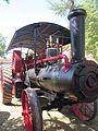 Ciechanowiec – samobieżna lokomobila parowa.JPG