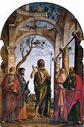 Cima da Conegliano - San Giovanni Battista tra i Santi Pietro, Marco, Girolamo e Paolo.jpg