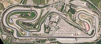 Circuit de Barcelona-Catalunya - Satellite picture of the circuit in 2018