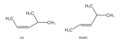 Cis and Trans conformations of an organic molecule.png