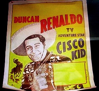 The Cisco Kid (TV series) - The Cisco Kid exhibit at Conrad Hilton's first hotel, the Mobley, in Cisco, Texas