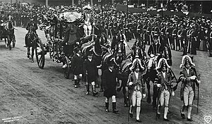 Lord Mayor of London's State Coach - The coach being used to convey Sir Marcus Samuel to the Coronation of Edward VII in 1902.
