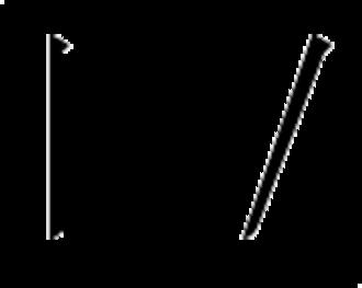Stroke count method - Image: Cjk s