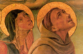 Clare and Francis of Assisi Gonfalone della Peste 1470.tiff