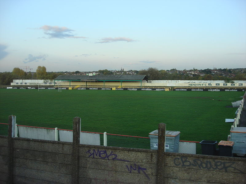 File:Claremont Road Ground Hendon FC.jpg