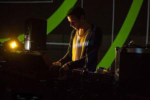 Chris Clark (musician) - Clark-Soundcheck-Mutek-2013