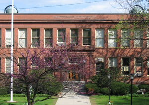 Deaf education - Hubbard Hall is the main building on the Northampton campus of Clarke Schools for Hearing and Speech, an oral school.