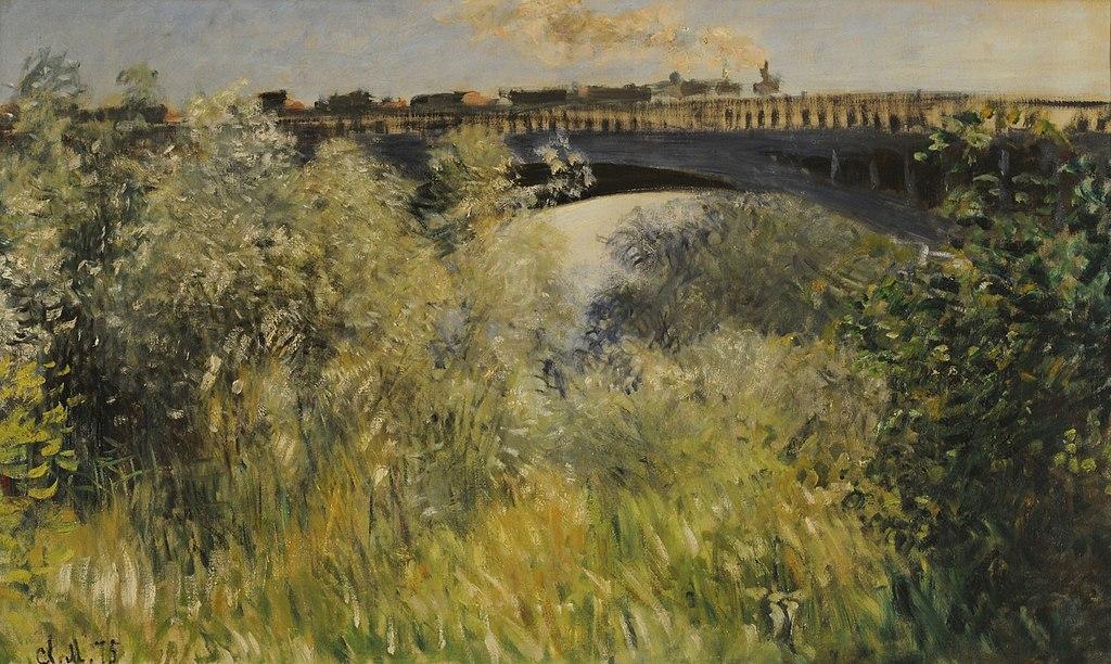 Claude Monet - Le Pont de Argenteuil, 1875