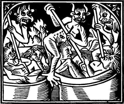Claude Noury 1506 The Torment of the Cauldron