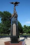 Cleveland County Veterans Memorial, Reaves Park, Norman, Oklahoma, USA.jpg