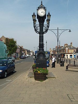 Ramsey, Cambridgeshire - Image: Clock On The Great Whyte geograph.org.uk 773912