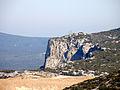 Clot de Dessus et pylônes de Tautavel depuis la tour del Far.jpg