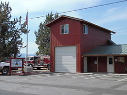 Cloverdale fire station
