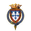 Coat of Arms of Henry, Duke of Viseu, KG.png