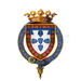 Coat of Arms of Henry, Duke of Viseu, KG.png