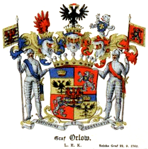 Orlov (family) - Arms of the counts Orlov
