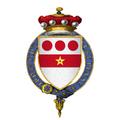 Coat of Arms of Sir John Devereux, 1st Baron Devereux, KG.png