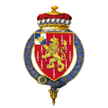 Coat of Arms of William Slim, 1st Viscount Slim, KG, GCB, GCMG, GCVO, GBE, DSO, MC, KStJ.png
