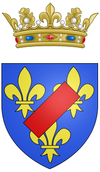 Coat of arms of Louis Jean Marie de Bourbon, Duke of Penthièvre.png