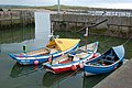Cobles in the harbour, Amble (1) - geograph.org.uk - 1366403.jpg