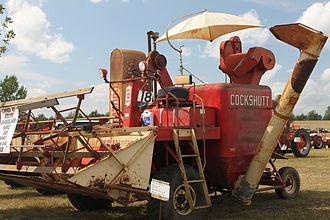 Cockshutt Plow Company - A Cockshutt combine harvester