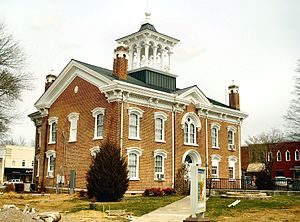 National Register of Historic Places listings in Coffee County, Tennessee - Image: Coffee county courthouse tn 1