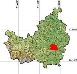 Vị trí của Cojocna
