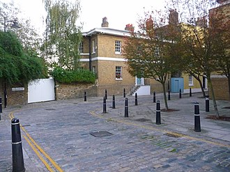 Coldharbour, Tower Hamlets - Image: Coldharbour